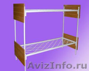 Металлические кровати для бытовок, кровати для вагончиков, кровати для лагерей - Изображение #4, Объявление #1478837