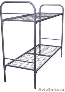 Металлические кровати для бытовок, кровати для вагончиков, кровати для лагерей - Изображение #10, Объявление #1478837