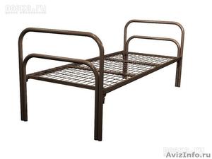 Металлические кровати для бытовок, кровати для вагончиков, кровати для лагерей - Изображение #6, Объявление #1478837