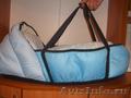 Продам коляску-трансформер голубого цвета