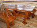 Мебель под старину из массива ручная работа.