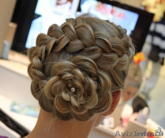 Плетение косы парк хаус