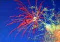 Дневной салют (цветные дымы)
