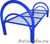 кровати металлические двухъярусные и одноярусные для строителей и военных, оптом - Изображение #4, Объявление #695595