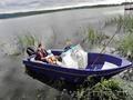 Продам лодку стеклопластиковую
