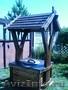 состаренное дерево стол беседка мостик мебель для кафе - Изображение #10, Объявление #829658