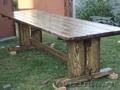 состаренное дерево стол беседка мостик мебель для кафе - Изображение #3, Объявление #829658