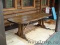 состаренное дерево стол беседка мостик мебель для кафе - Изображение #7, Объявление #829658