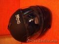 Шлем для мотоцикла новый черный