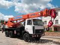 Автокран 25 тонн Клинцы 28 метров на шасси МАЗ КС 55713-6К-3