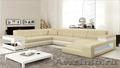 Модульный диван. От производителя по цене текстиля. Итальянская кожа.