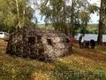 Армейская палатка 10М2 (двухслойная)
