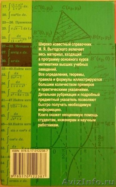 Справочники По Высшей Математике