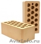 Кирпич керамический облицовочный,  блок керамич