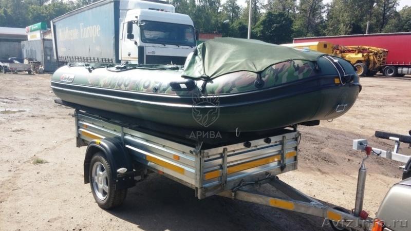 машина для перевозки лодки пвх