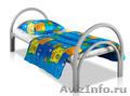 Металлические кровати для бытовок,  кровати для вагончиков,  кровати для лагерей